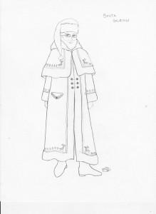 robe-sketch
